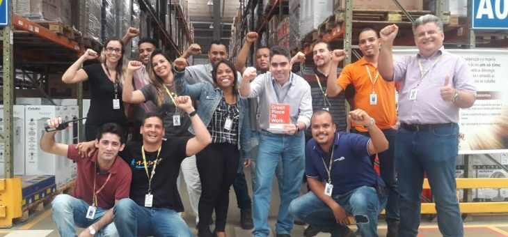 Martins is elected the 3rd best company to work in Bahia by GPTW!